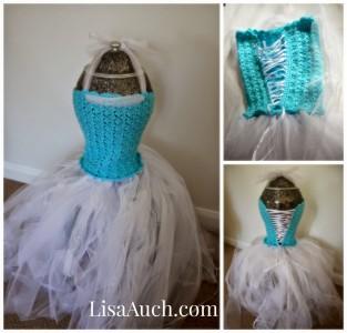 20.crochet easy tutu dress elsa frozen