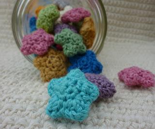 21.crochet mini star free pattern amigurumi