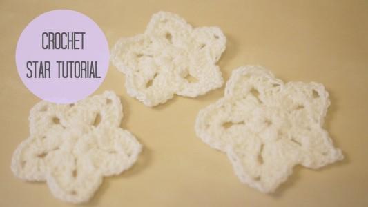 29.star tutorial crochet beginner project