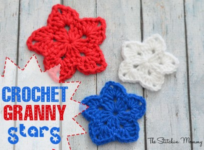3.crochet granny square star easy