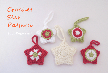 33.Crochet-Stars-colourful tutorial eassy
