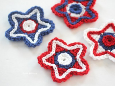 35.CrochetStars free tutorial