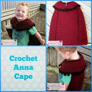 8.crochet Anna cape free pattern frozen inspired