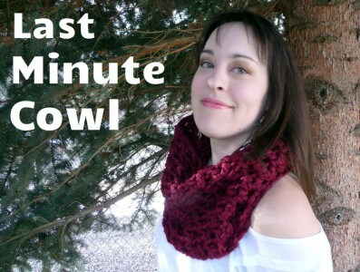 14.lacey circle quick and easy crochet cowl scarf free pattern