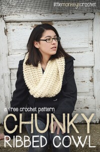 17. crochet easy free pattern ribbedcowl-cover-sandy