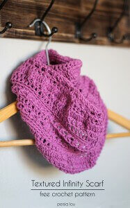 20.crochet infinity scarf tutorial how to