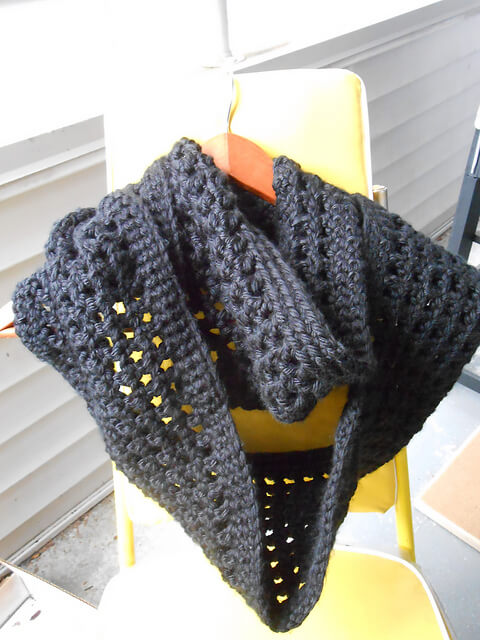 25.chunky crochet infinity cowl free  pattern