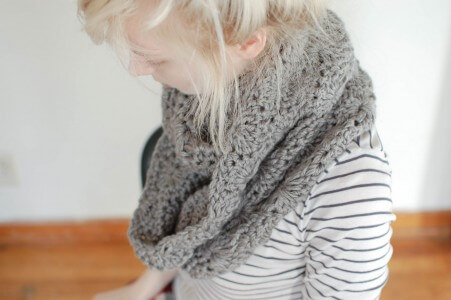 32.chunky crochet scarf tutorial how to free pattern easy