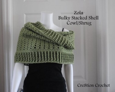 35.free-crochet-pattern-bulky-stacked-shell-cowl-shrug