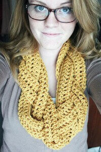 38.infinity simple easy crochet scarf cowl