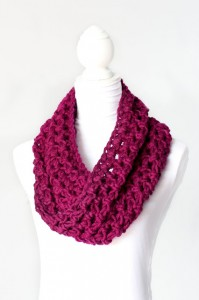 40.crochet Basic Bulky Cowl beginner tutorial