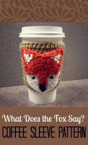 free easy Coffee Sleeve crochet Pattern