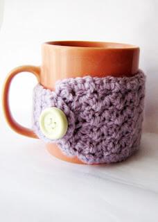 free easy Easy crochet mug cozy DIY pattern