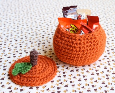amazing Crochet Pumpkin Treat Bowl Pattern