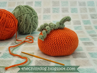amazing free Crocheted Pumpkin Pattern