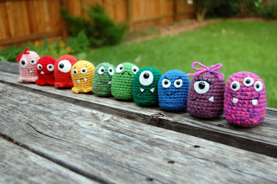 amazing free crochet pattern Baby Monster's Guide to Basic Amigurumi