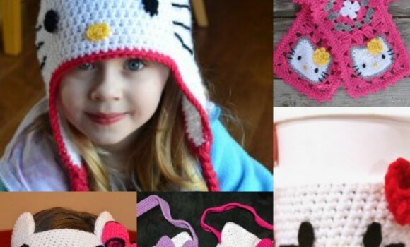 12+ free hello kitty crochet inspired