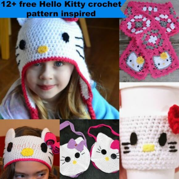 Crochet Keychain Hello Kitty | 580x580