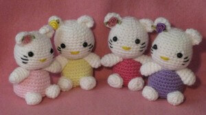 Hello Kitty Amigurumi Free Crochet Pattern