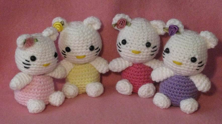 crochet ideas and tips | Tığ desenleri, Hello kitty, Tığ motifleri | 496x883