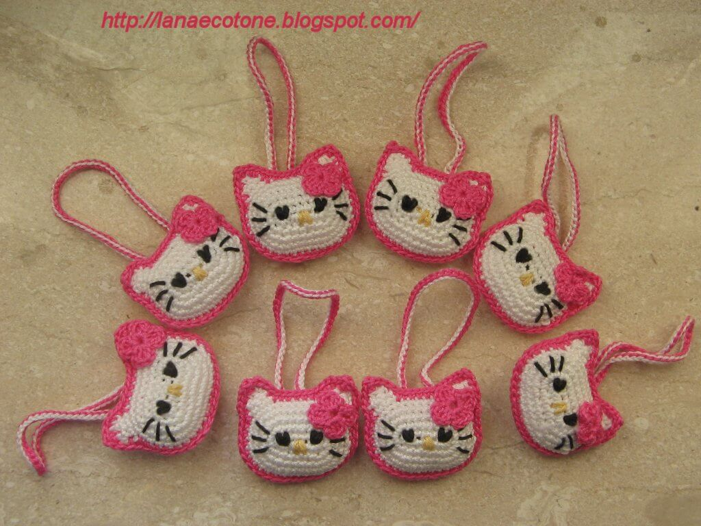 Free hello kitty crochet patterns inspired
