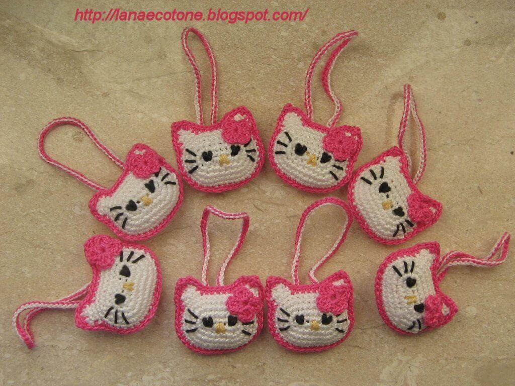 Crochet Hello Kitty free pattern amigurumi | Amigurumi Space | 768x1024