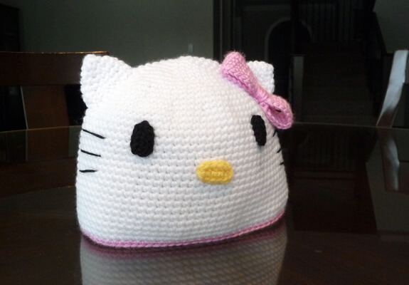 Crochet Kitty Hat Pattern : When winter comes, these hats will be every girl?s favorite details ...