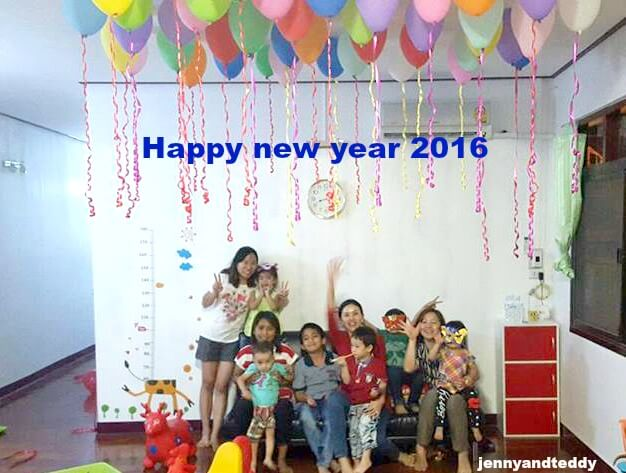happy new year 2016 by jennyandteddy