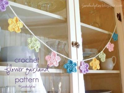 26. crochet easy Flower-Garland1_1