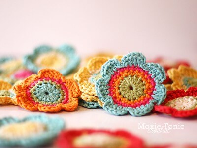 28. flower bloom crochet daisies easy how to tutorial free pattern