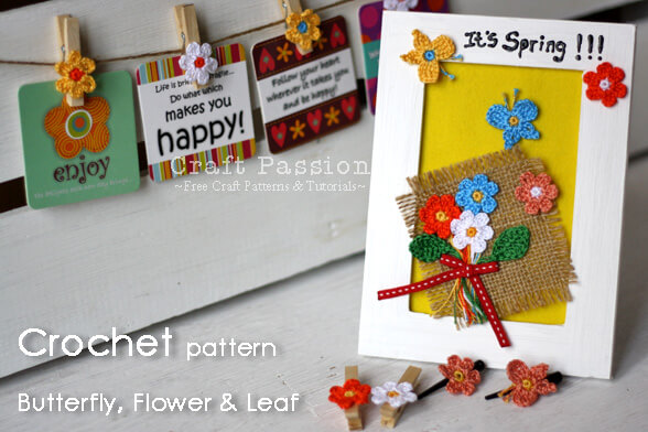 39.crochet-butterfly-flower-leaf