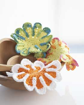 43.free crochet Flower-Dish-Cloths