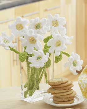 46. crochet free pattern Daisy-Crochet-Bouquet