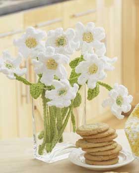 46. crochet free pattern Daisy-Crochet-Bouquet