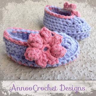 13.how to crochet newborn baby bootie