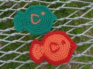 19. fish applique free pattern crochet