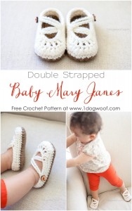 28. double strapped crochet baby_mary_janes_crochet_pattern