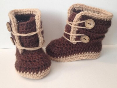 50.baby crochet free patternMonthsBabyWinterBoots_1