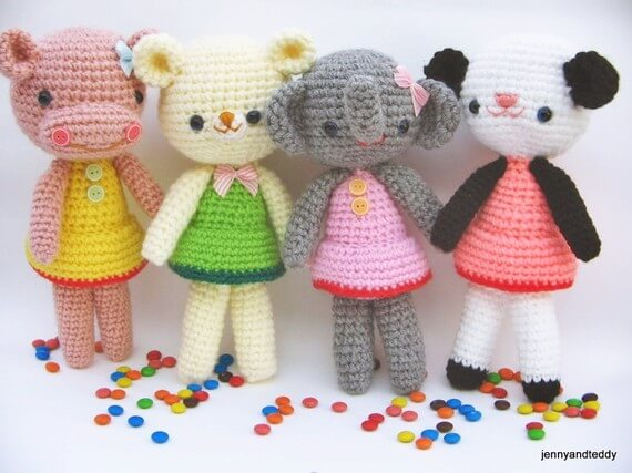 free amigurumi animal pattern girlgang