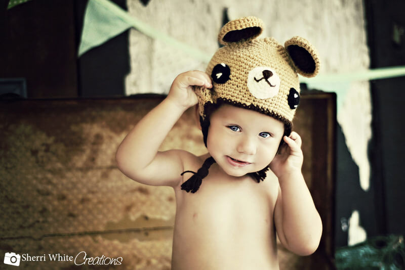 free crochet pattern teddy bear hat by jennyandteddy. bearhat1 16bb33c080b
