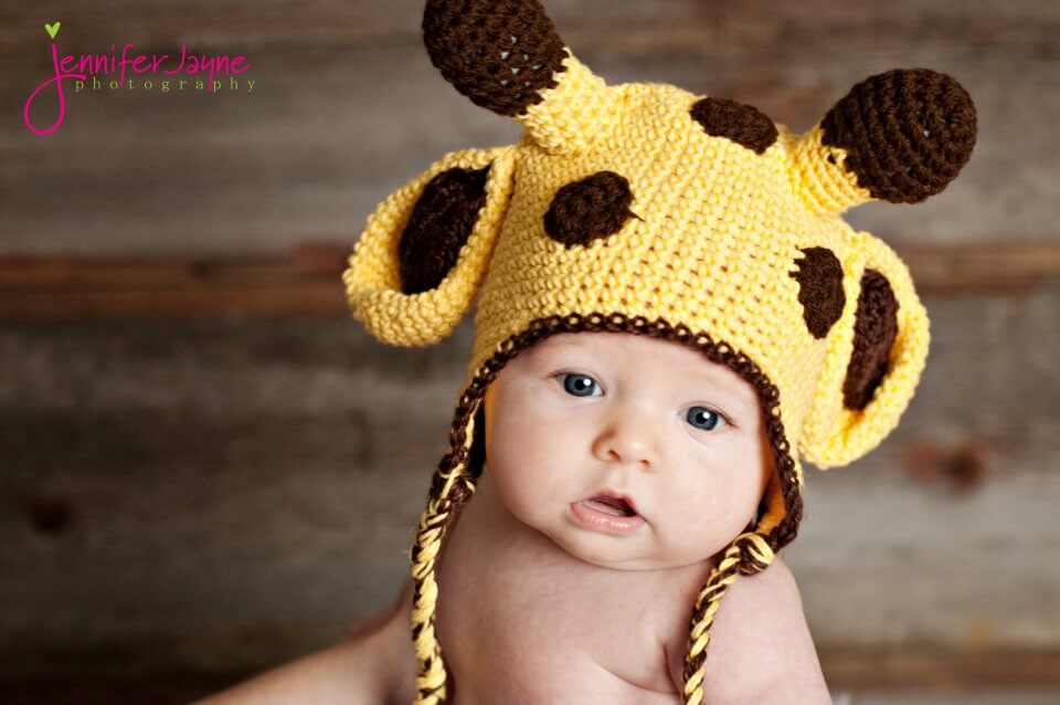 free crochet giraffee hat pattern