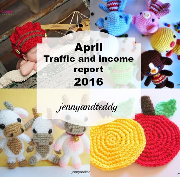 April traffic and income report 2016 by jennyandteddy
