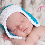 bomber crochet baby hat free pattern by jennyandteddy3