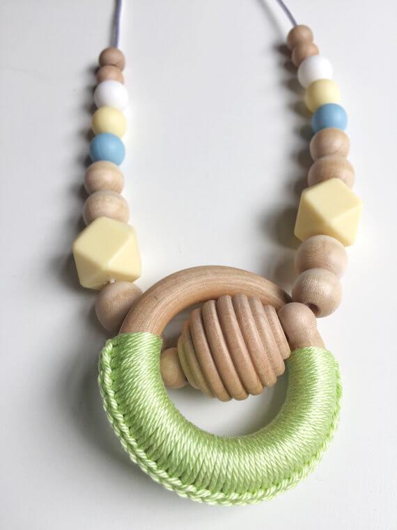 handmade nursing necklace etsy