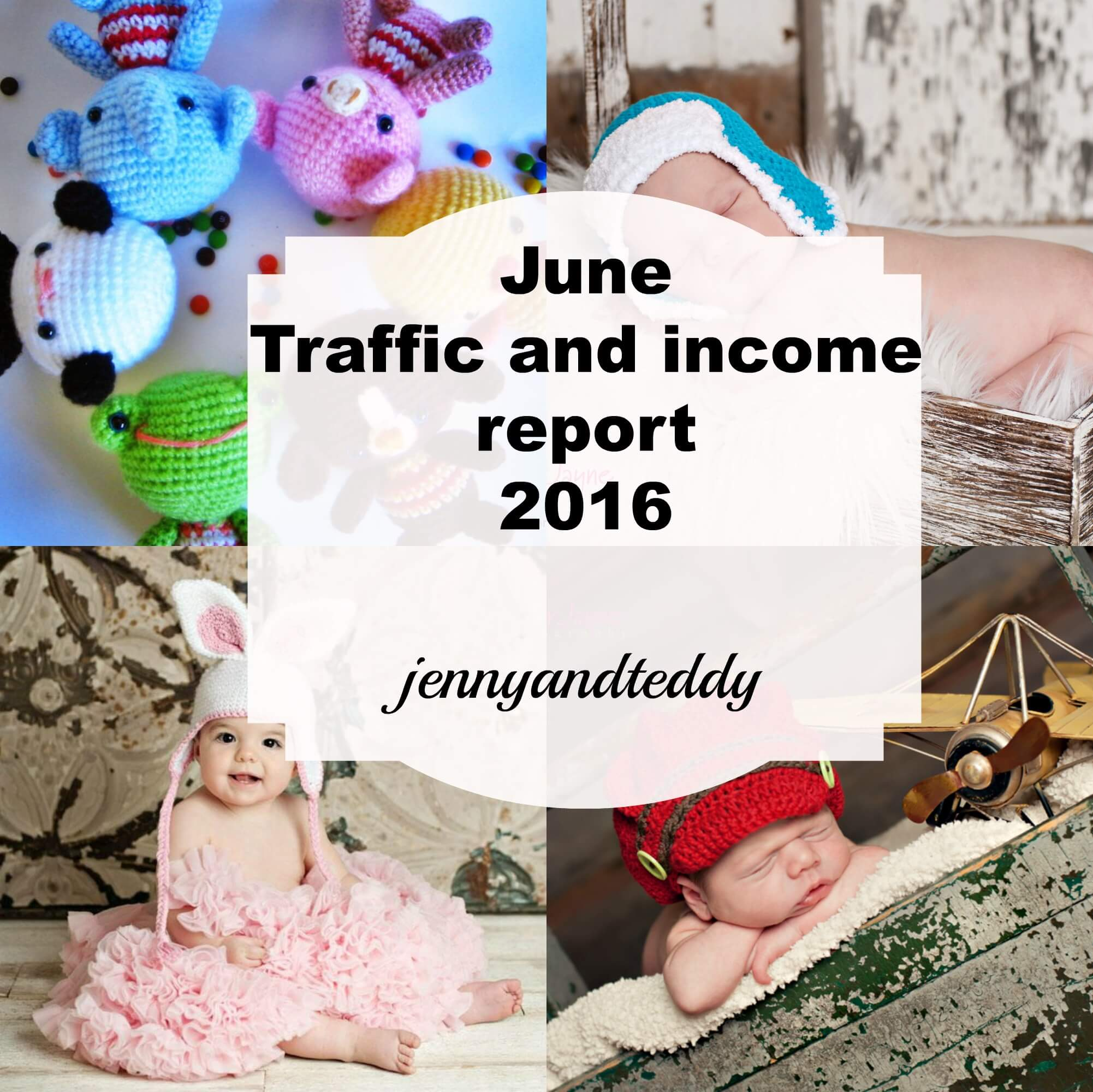 june traffic and income report 2016 by jennyandteddy