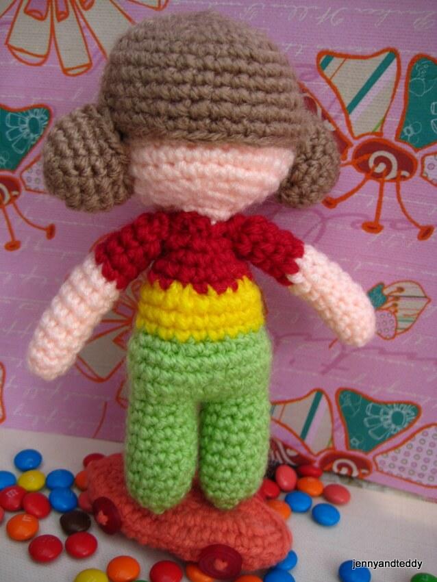 Nicky Cheeky Monkey Amigurumi Free Crochet Pattern