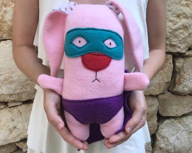 pinkSuperHero