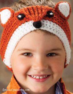 8-fox-ccrochet-headband