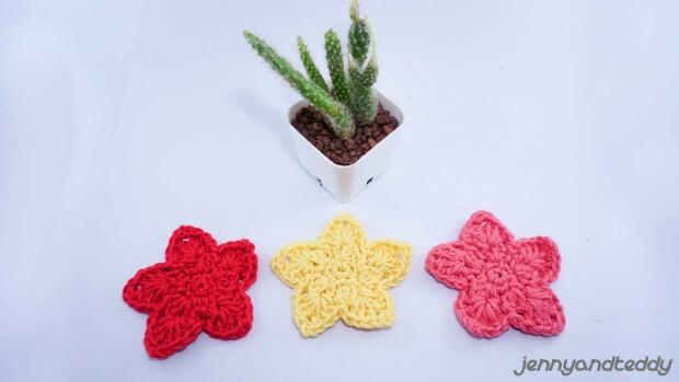 Easy Crochet Star Applique Free Crochet Pattern
