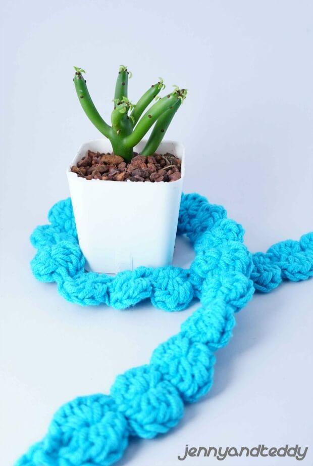 free and easy shell stitch crochet headband pattern